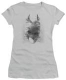 Juniors: The Dark Knight Rises - Bat Head T-Shirt