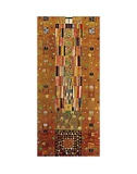 Pattern for the Stoclet Frieze, c.1905/06 End Wall Prints by Gustav Klimt