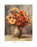 Les Anemones Photo by Pierre-Auguste Renoir