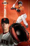 San Francisco Giants Buster Posey 2012 Poster