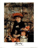 Woman and Child Posters by Pierre-Auguste Renoir