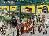 Train Station Prints