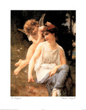 Venus Cupid Prints by Guillaume Seignac