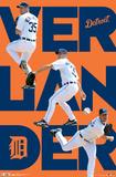 Detroit Tigers Justin Verlander 2012 Pósters