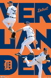 Detroit Tigers Justin Verlander 2012 Posters
