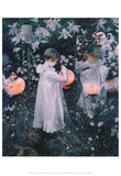 Carnation Lily Lily Rose Posters by John Singer Sargent