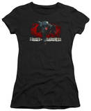 Juniors: The Dark Knight Rises - Forged in Darkness T-Shirt