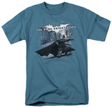 The Dark Knight Rises - Batarang Throw T-shirts