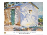 Corfu Lights and Shadows Prints by John Singer Sargent