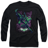 Long Sleeve: The Dark Knight Rises - Bat vs Bane T-shirts