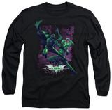 Long Sleeve: The Dark Knight Rises - Bat vs Bane T-shirts