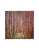 Tannenwald I Kunstdrucke von Gustav Klimt