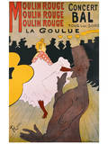 Moulin Rouge Posters by Henri de Toulouse-Lautrec