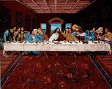 Last Supper Jesus Christ Posters
