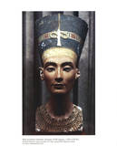 Bust of Queen Nefertiti Dynasty XVIII Egypt Posters