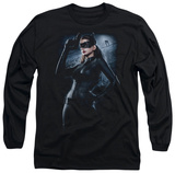 Long Sleeve: The Dark Knight Rises - Out on the Town T-Shirt