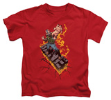 Youth: The Dark Knight Rises - Bane on Fire T-shirts