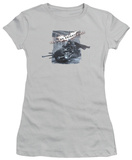 Juniors: The Dark Knight Rises - Batpod Breakout T-shirts