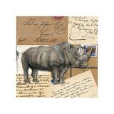 Africa Rhinoceros Kunst