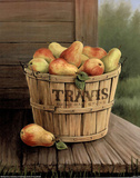 Bushel Of Pears (Painting) Prints