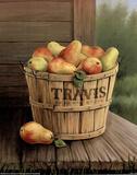 Bushel Of Pears (Painting) Prints