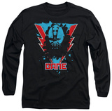Long Sleeve: The Dark Knight Rises - Bane Lightning Shirt