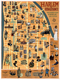 The Harlem Renaissance Posters by Tony Millionaire