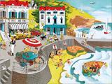 Seaside Resort Posters