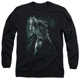 Long Sleeve: The Dark Knight Rises - Batman Rain T-shirts