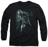 Long Sleeve: The Dark Knight Rises - Batman Rain T-shirts
