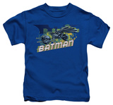 Youth: The Dark Knight Rises - Wheels on Fire T-Shirt