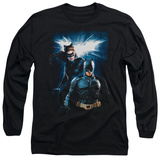 Long Sleeve: The Dark Knight Rises - Bat &amp; Cat T-shirts