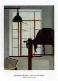 View of New York Affiches par Charles Sheeler