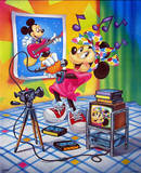 Minnie Mouse Karaoke Posters