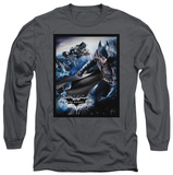 Long Sleeve: The Dark Knight Rises - The Batwing Rises T-Shirt