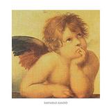 Angels Detail 2 Affiche par  Raphael