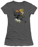 Juniors: The Dark Knight Rises - Fight For Gotham T-Shirt