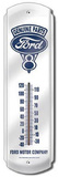 Genuine Ford Parts V8 Engine Indoor/Outdoor Thermometer Tin Sign