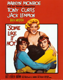 Marilyn Monroe Some Like It Hot Posters