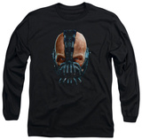 Long Sleeve: The Dark Knight Rises - Painted Bane T-Shirt