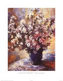 Claude Monet - Vase a Fleurs - Reprodüksiyon