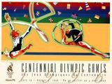 Olympic Rhythmic Gymnastics Atlanta, c.1996 Prints by Hiro Yamagata