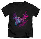 Youth: The Dark Knight Rises - Batarang (Pink) T-Shirt