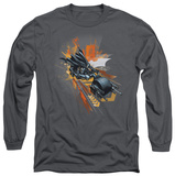 Long Sleeve: The Dark Knight Rises - Batpod Shirts