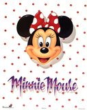 Minnie Mouse Portrait ポスター