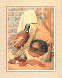 Hunting Lodge (Pheasant) Poster