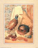 Hunting Lodge (Pheasant) Poster