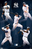 New York Yankees Collage 2012 Affiches