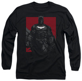 Long Sleeve: The Dark Knight Rises - Bat Lines Shirts