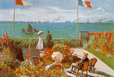 Balcony on the Sea Prints by Claude Monet